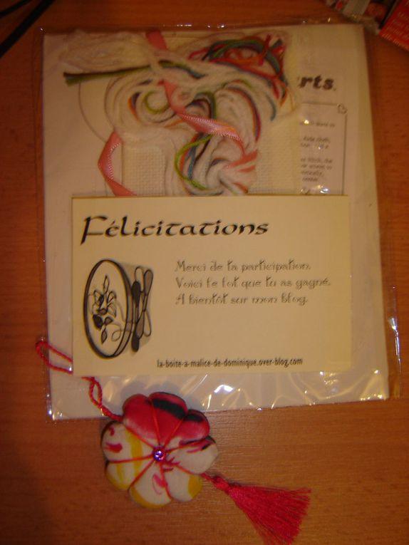 Merci de votre gentillesse ...Un Album consacré à vos cadeaux pour ma Famille !!!Bisous