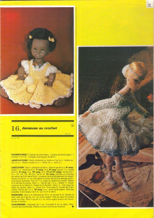 Album - Vêtements de poupées au crochet