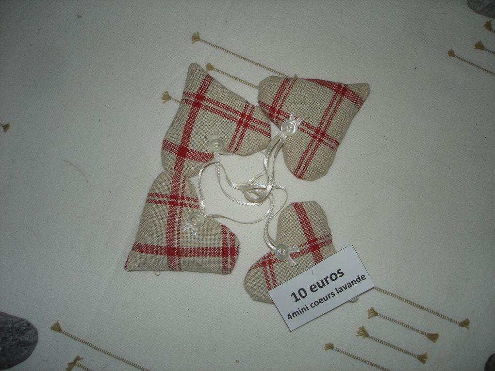 Coussin de porte remplis de lavandeDisponible à la vente