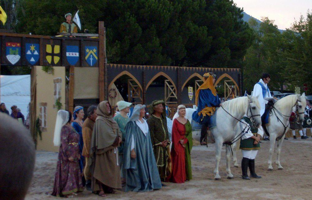 Les photos de la fin de fête médiévale.