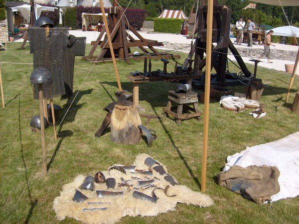 La fête médiéval de Mont Bazon.