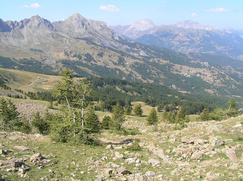Vallée de l'Ubaye, entre Sauze et Super Sauze
