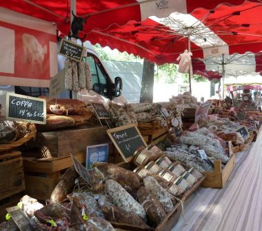 Marché d'Arles, samedi 22 juin 2103