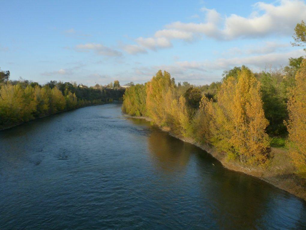 Samedi 17 novembre 2012, promenade à Noé et sur les bords de Garonne