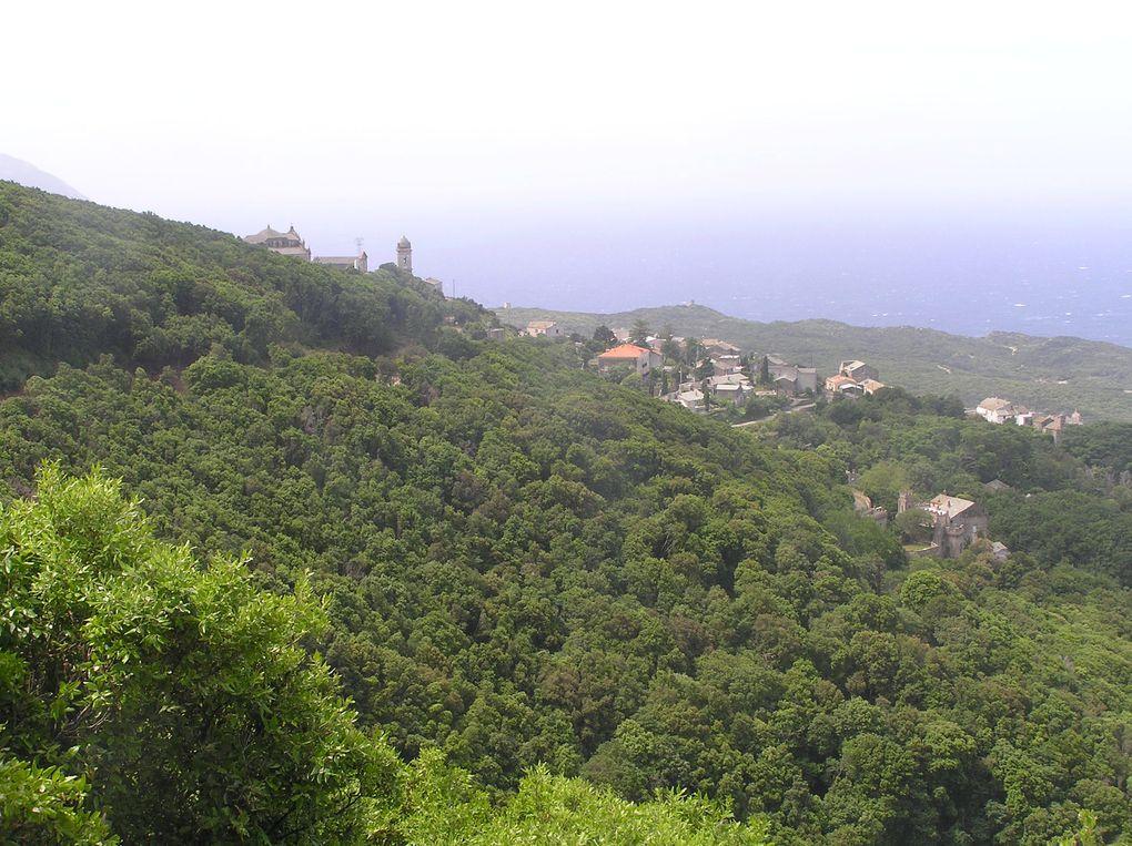 Tour du Cap-Corse, de Bastia à Pino.31 mai 2010