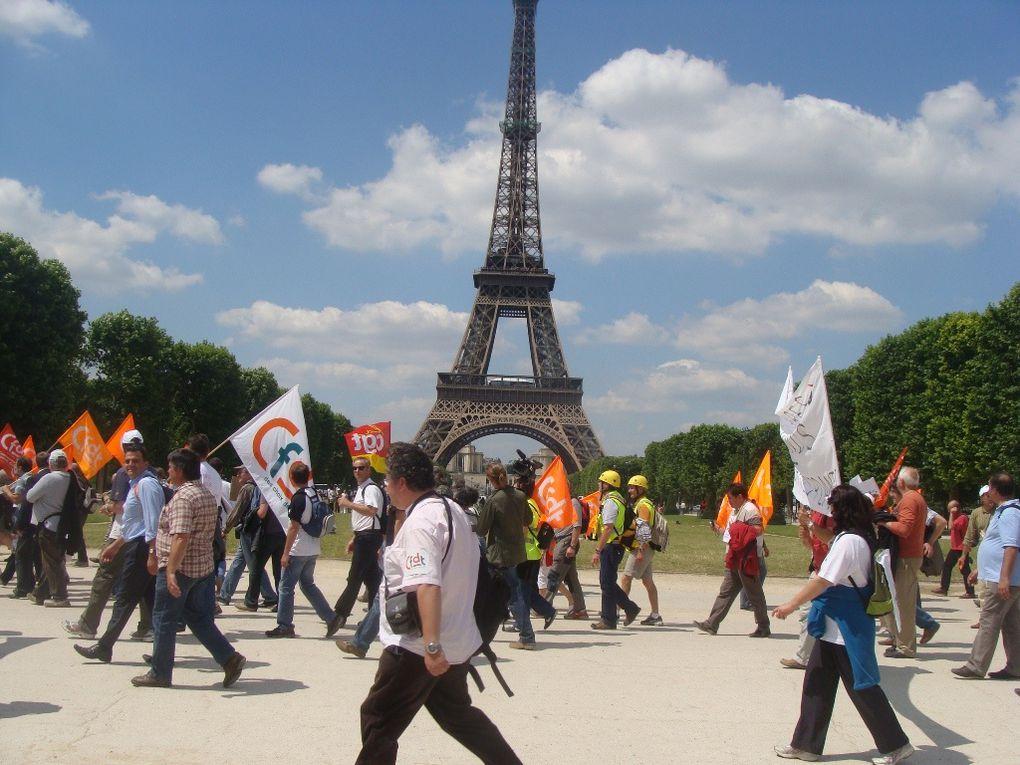 Les images de la manifestation du 23 Juin 2009 à Paris