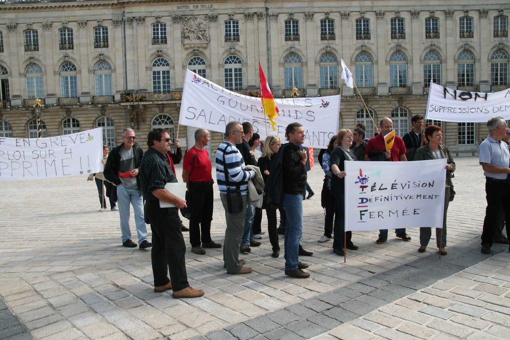 Les images de la manifestation du 15 Septembre à Nancy