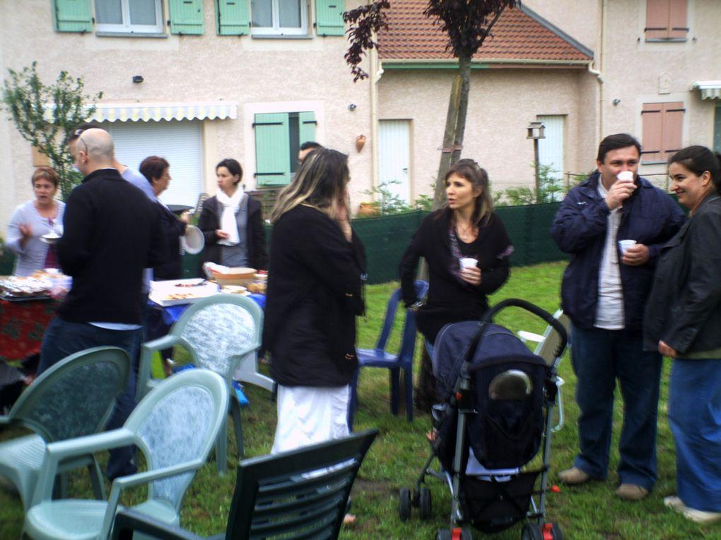 La fête des voisins au Vert Village le 28 mai 2010