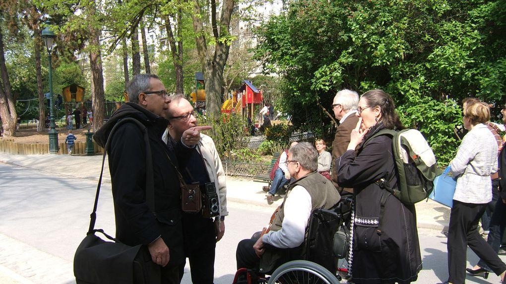 Sortie Photographique de Prises de vues au Moyen Format.Parc Montsouris Paris 14èmeSamedi 12 Avril 2014. Merci à Corinne et Jean pour le reportage
