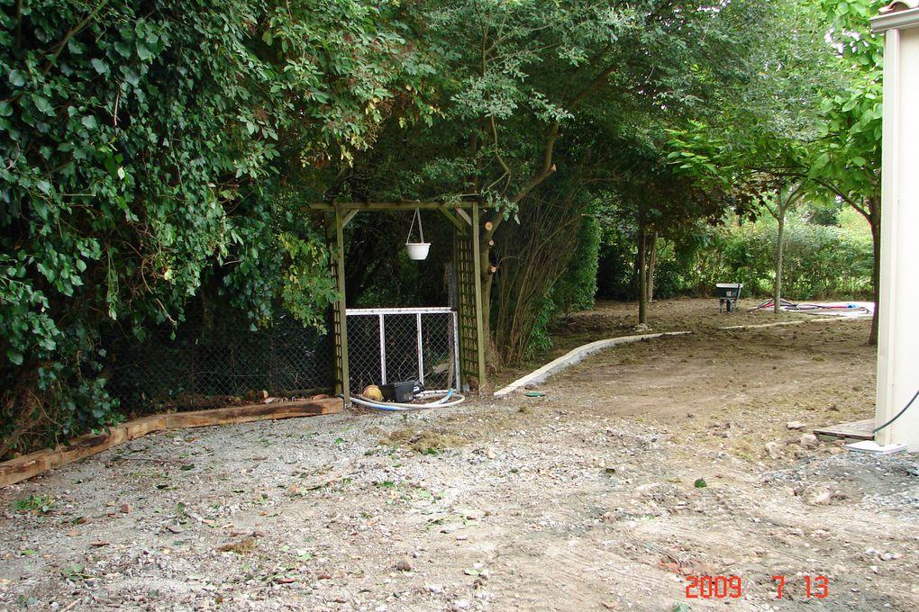 Album - 2009-07-Travaux-Jardin