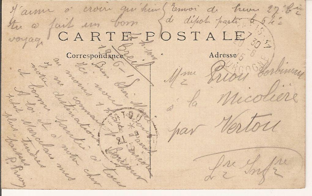 Album - Correspondances-14-18-Pierre-PRIOU