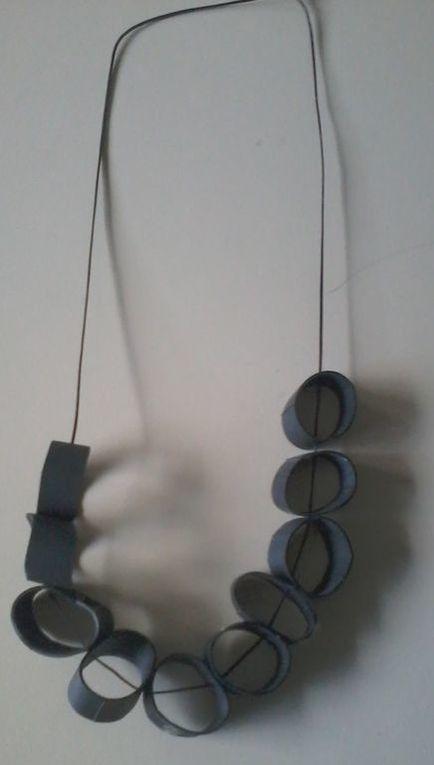 Vêtements et accessoires réalisés à base de chambre à air