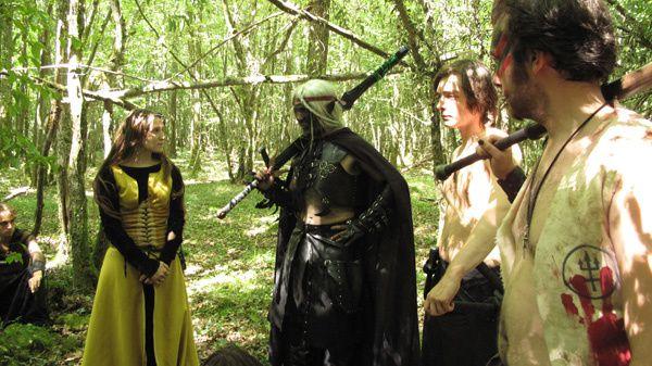 """épisode """"L'Aube des Seigneurs"""":Dédicace à la Meute, à mon Clan, au couple Azash-Cléante et à tous les GNistes passionnés. xoxo"""