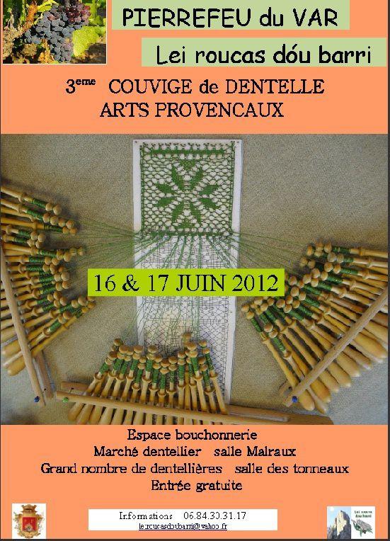 Album - 07 - 2012 Dentelles  - 3ème Couvige de dentelles