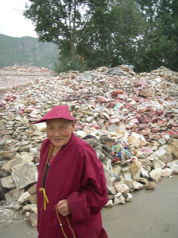 En remontant le Fleuve jaune (été 2012) : Mongolie intérieure, Ningxia, Gansu, Qinghai, Sichuan, Shaanxi.