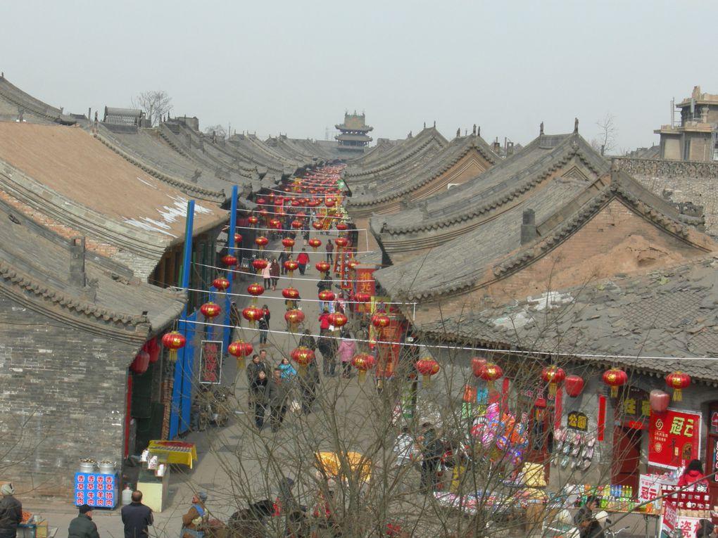 Photos de voyage au Shanxi (février 2010) puis au Henan et à nouveau au Shanxi (novembre 2011)