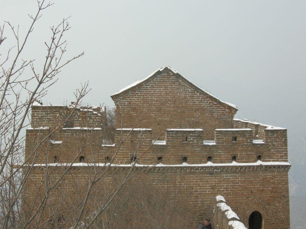 Nos sites préférés sur la muraille à travers les saisons.