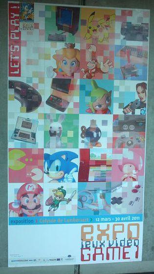 photos lors d'une expo sur les jeux vidéos