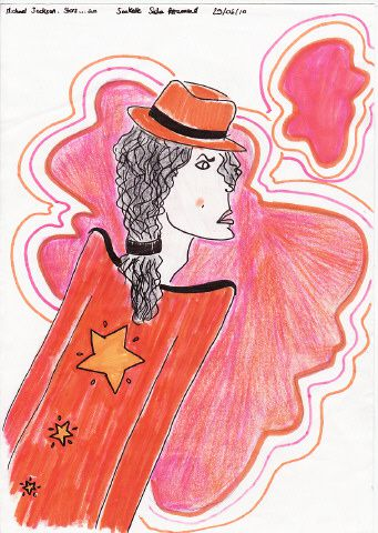 tous mes dessins de michael jackson : crayonnés, à la palette graphique, à la peinture...