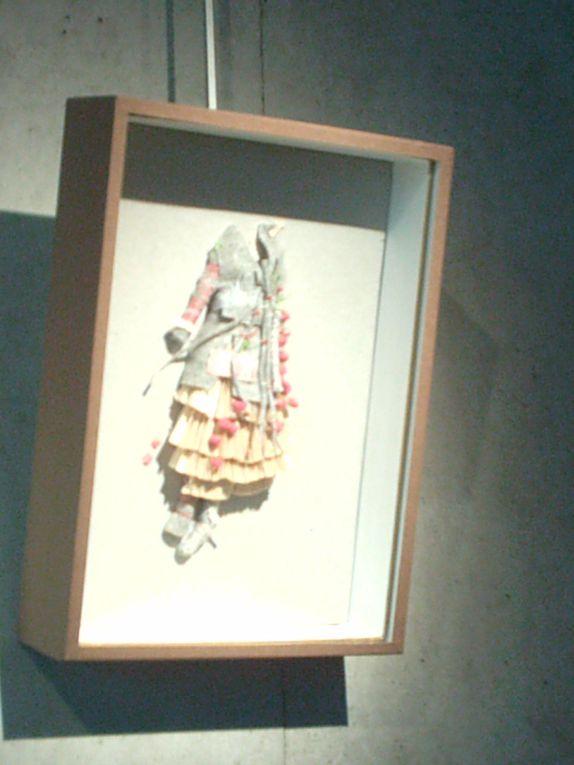 """l'expo """"la robe, objet plastique""""qqs photos pour vous faire decouvrir cette expo de lille"""