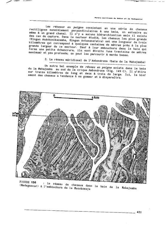 Thèse d'Etat, 1990, Les marais maritimes du Gabon et de Madagascar - Chapitre 12 : pp. 410-434
