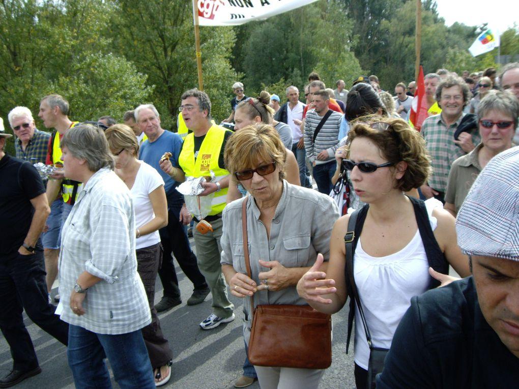 Manifestation anti loi retraites 2010