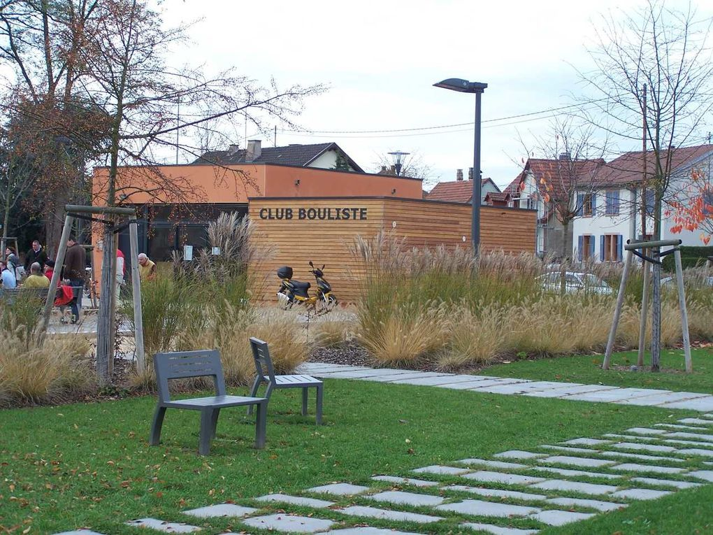 Parc Bellevue à Haguenau