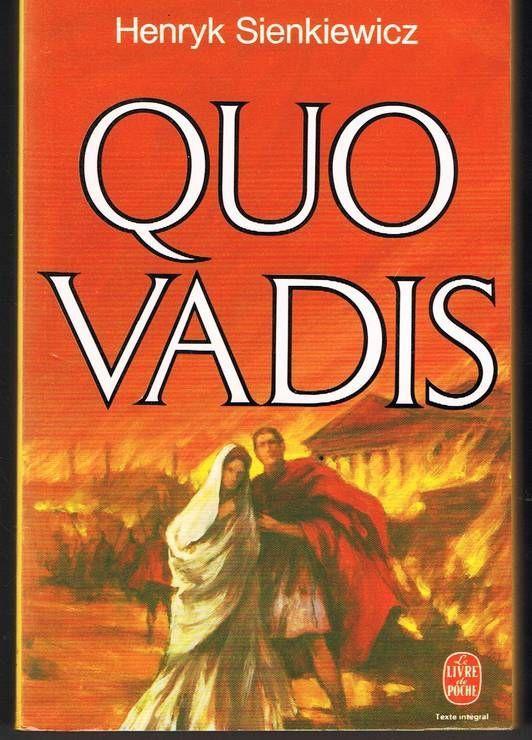 Quelques versions des publications de Quo Vadis? présentes sur les librairies en ligne.
