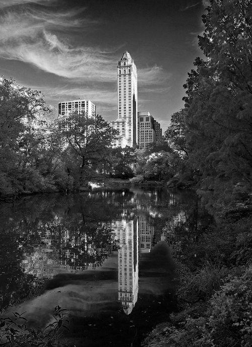 Images N/B et couleur de New York vu par Jacques Masse,  de retour d'un voyage familial et touristique.