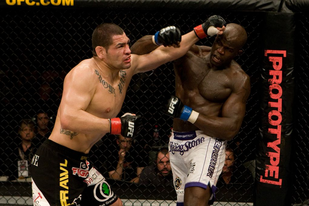 pictures of Cheick in his UFC fight