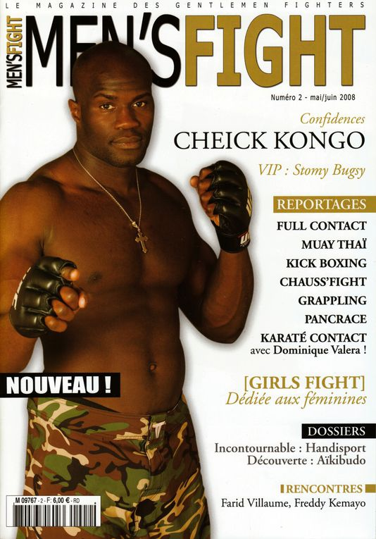 Cheick's official pictures and Mags cover / Photo officiel de Cheick et couverture de magazine