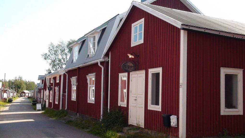 En passant par Gammelstad...