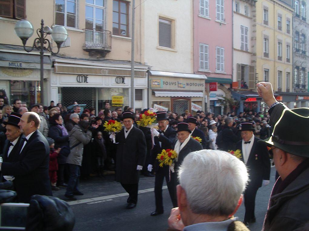 La fête des conscrits le 31 janvier 2010