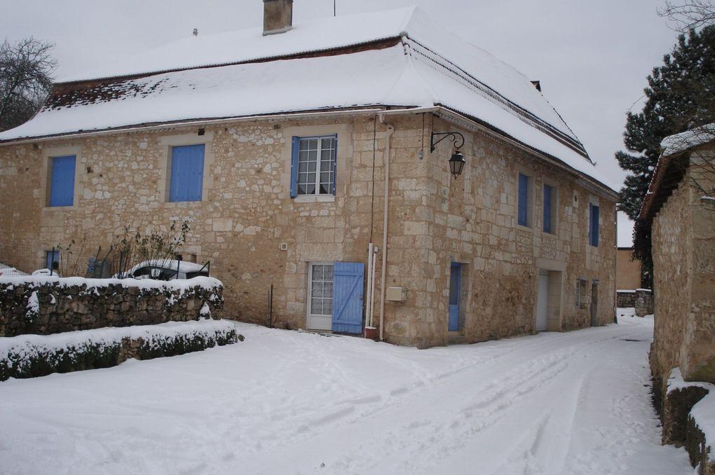 Album - St Georges de Montclar sous la neige