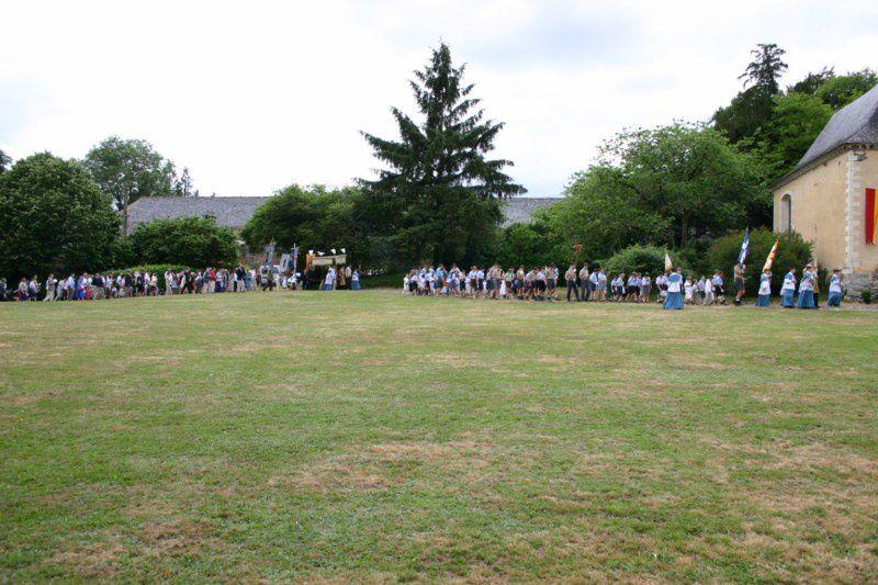 Photos de la procession de la Fête Dieu le dimanche 6 juin 2010.