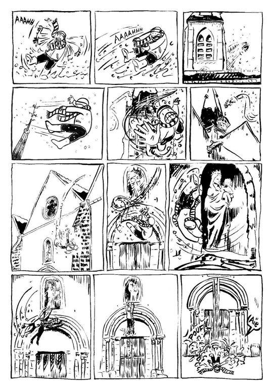 """Pour la Fête de la Science, l'Atelier BD a créé une BD collective sur le thème : """"L'Architecture de Palaiseau et la BD"""". Les planches ont été exposées en octobre 2012,durant la Fête de la Science à Palaiseau. L'opération a un but non-lucr"""