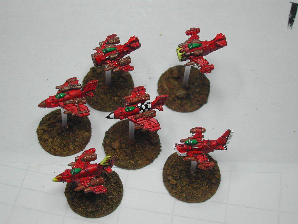 Les photos de mon armée Ork en 6mm, pour le jeu EPIC ARMAGEDDON