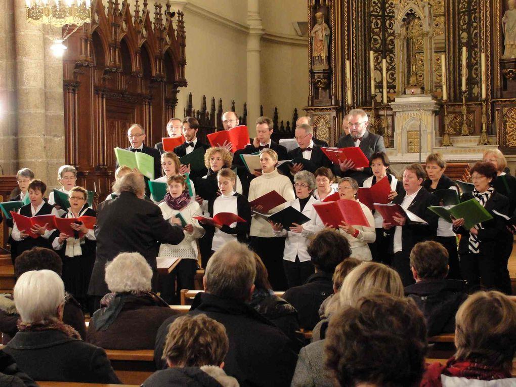 Concert de Noël avec le choeur rennais et l'ensemble vocal Alain Fromy