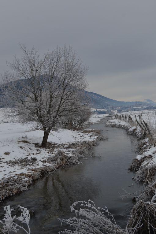 La Bourne, petite rivière qui traverse le Vercors Nord et le Val de Lans pour ensuite rejoindre Villard et le sud par des Gorges spectaculaires