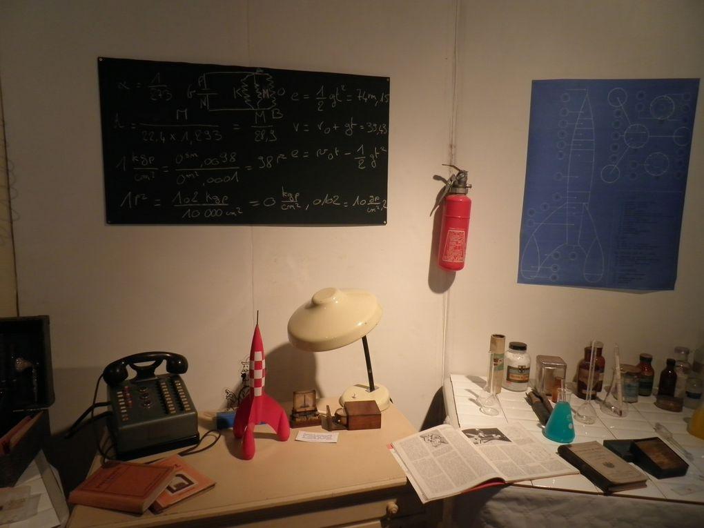 Photos des Journées tintinophiles de Senlis 2011