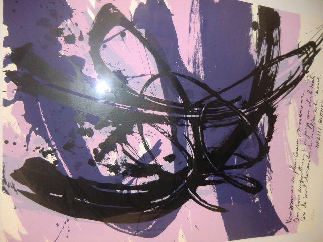Quelques oeuvres de Garard GOSSELIN, Ernest PIGNON, OUZANI, Bruce CLARK, CHU TE-CHUN