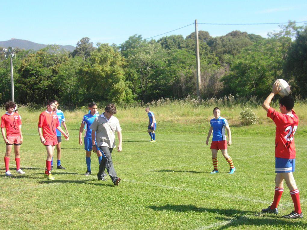 Déroulement des championnats de France de Rugby à Ajaccio du 11 au 13 mai 2011.
