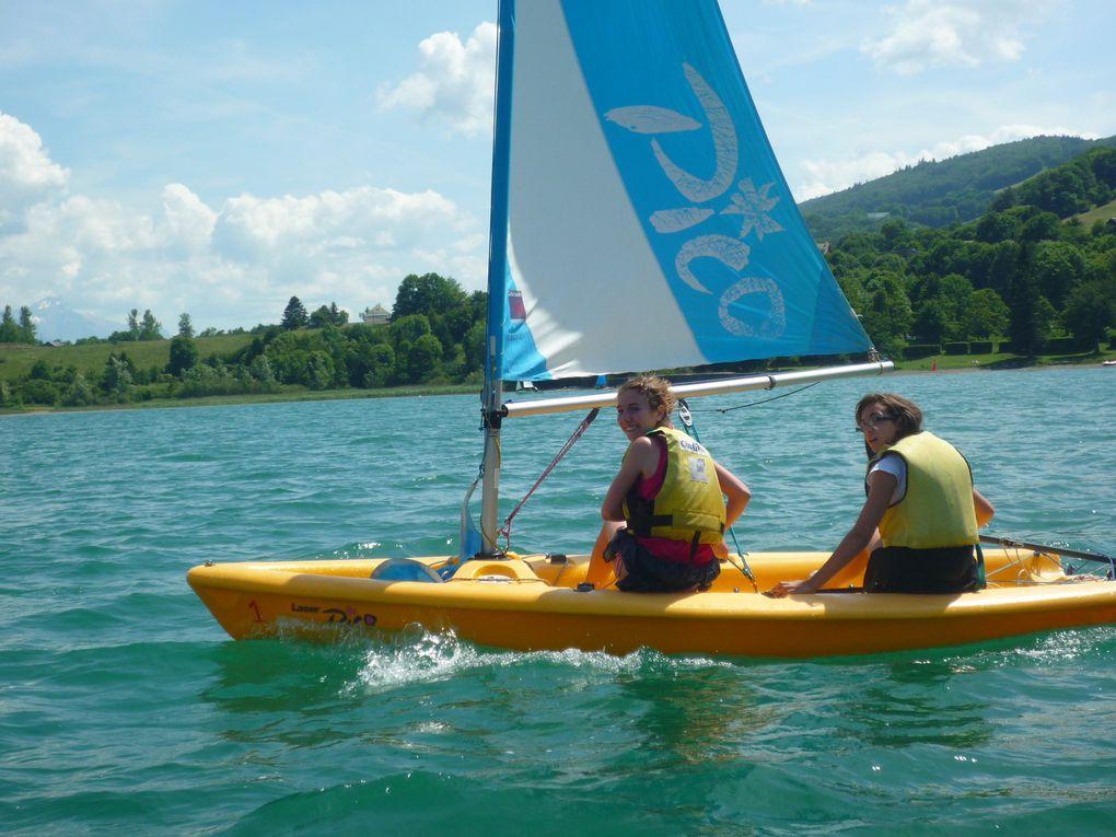 mai et juin 2011 au lac de laffrey encadré par veronique Chorel et Hervé Gayot