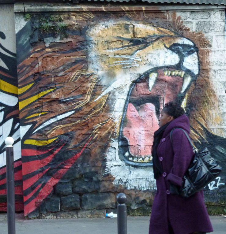 Graffitis, Tags, Street Art, décorations murales