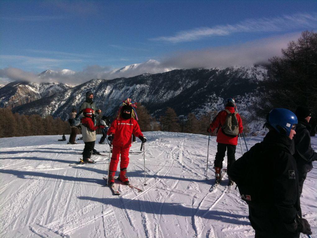 Album - Séjour ski 2010 à Risoul
