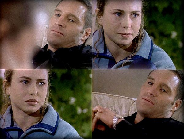 Yvonne Scio et Douglas O'Keeffe dans «Obsessed» (S1/E1) et «Double Date» (S2/E14)