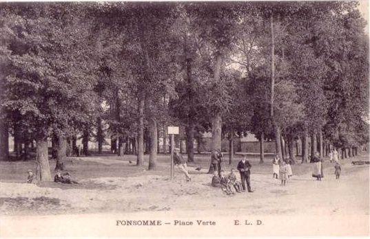 Cartes postales anciennes de Fonsomme