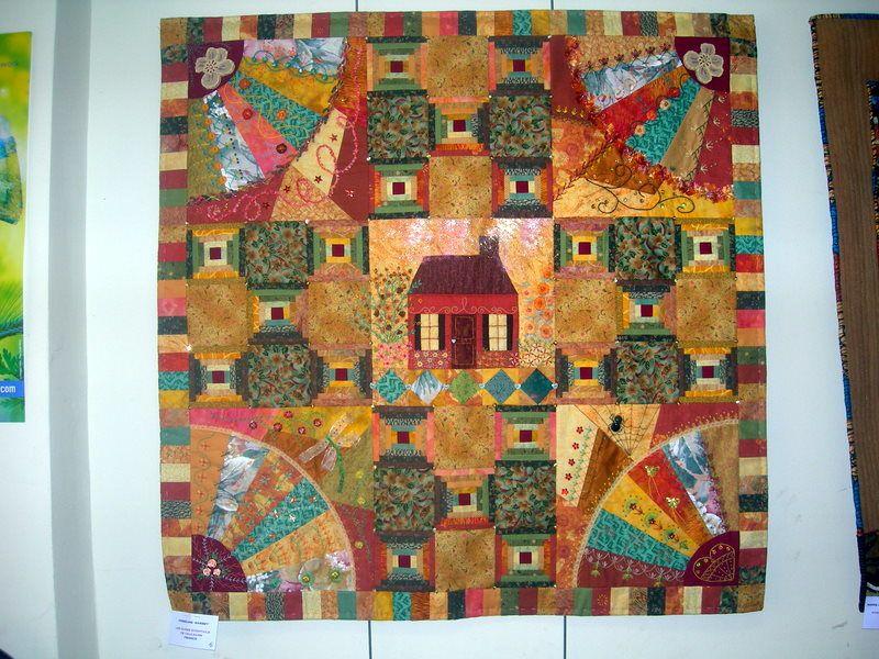 1éres rencontres internationales de patchwork et art textile en vallée d'aigues 8,9 et 10 mai 2009