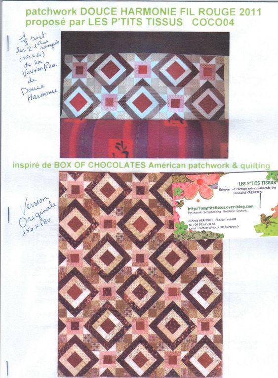 Album - DOUCE HARMONIE patch fil rouge 2011