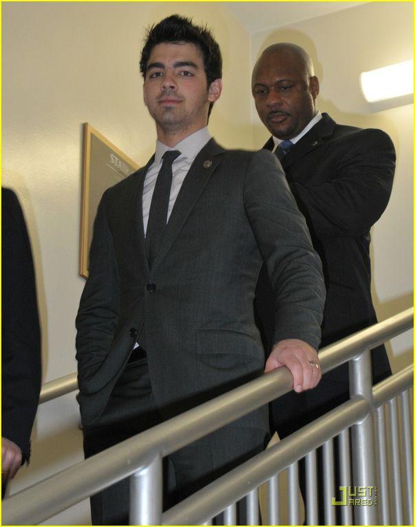 Joe Jonas in Washington DC